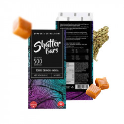Buy Euphoria Extractions Shatter Bars Full Spectrum THC 500mg - LadyJane
